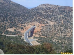 On my way to the Lasithi Plateau