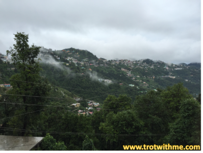 Hills in Monsoons